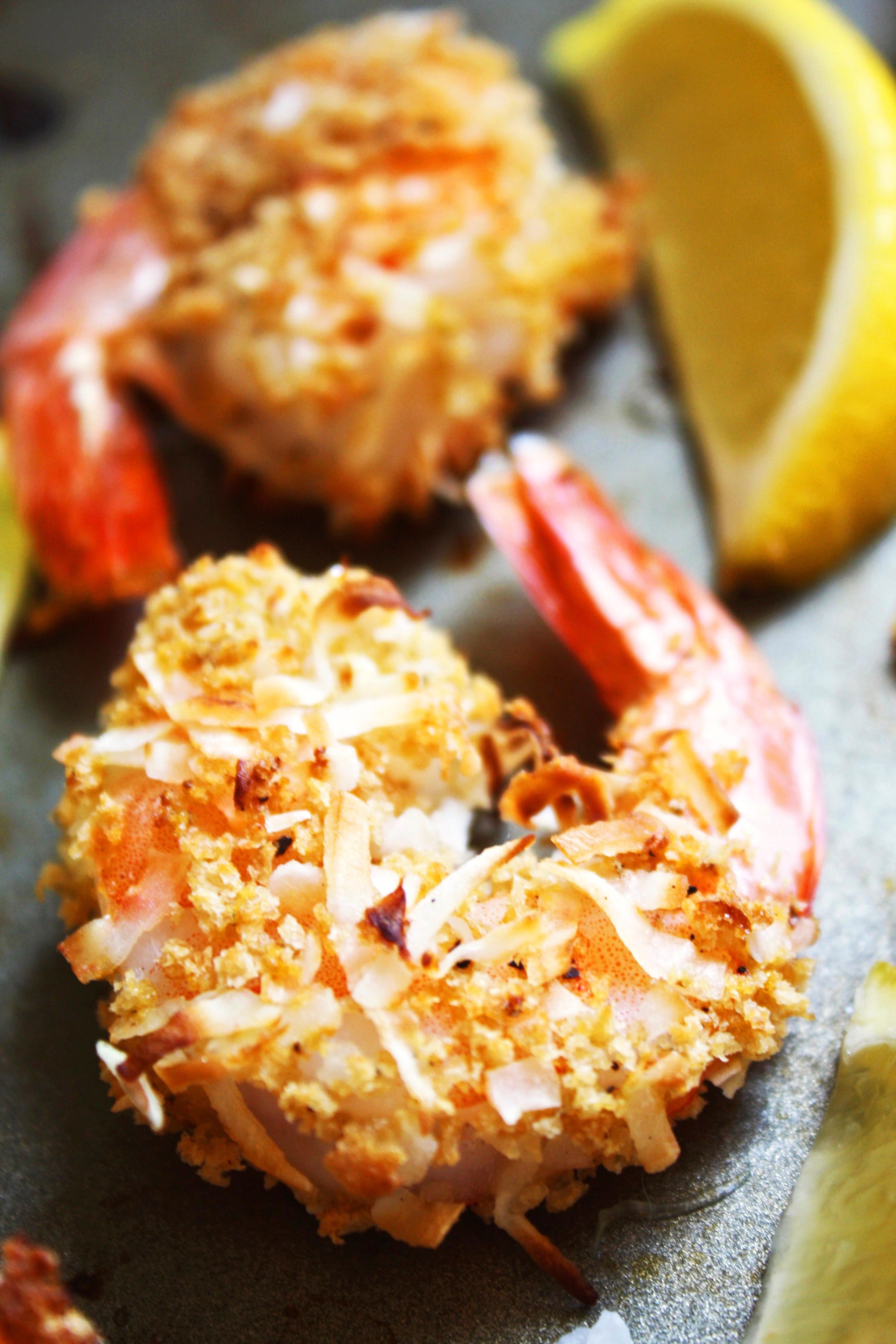 Coconut Shrimp Recipes  Baked Coconut Shrimp [21 Day Fix]