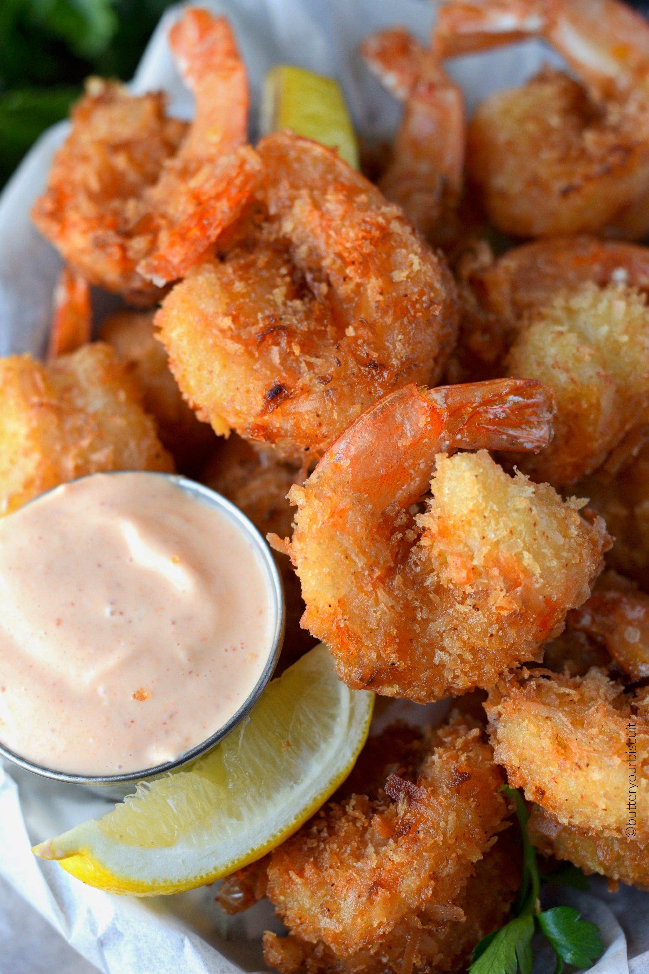 Coconut Shrimp Recipes  Crispy Fried Coconut Shrimp Recipe Butter Your Biscuit