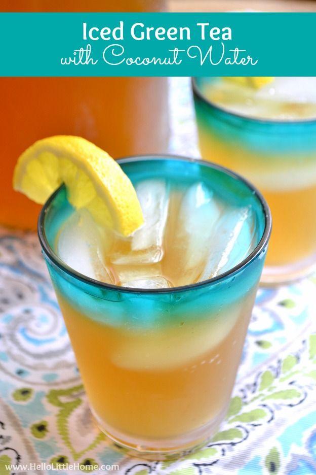 Coconut Water Drink Recipes  Best 25 Coconut water drinks ideas on Pinterest