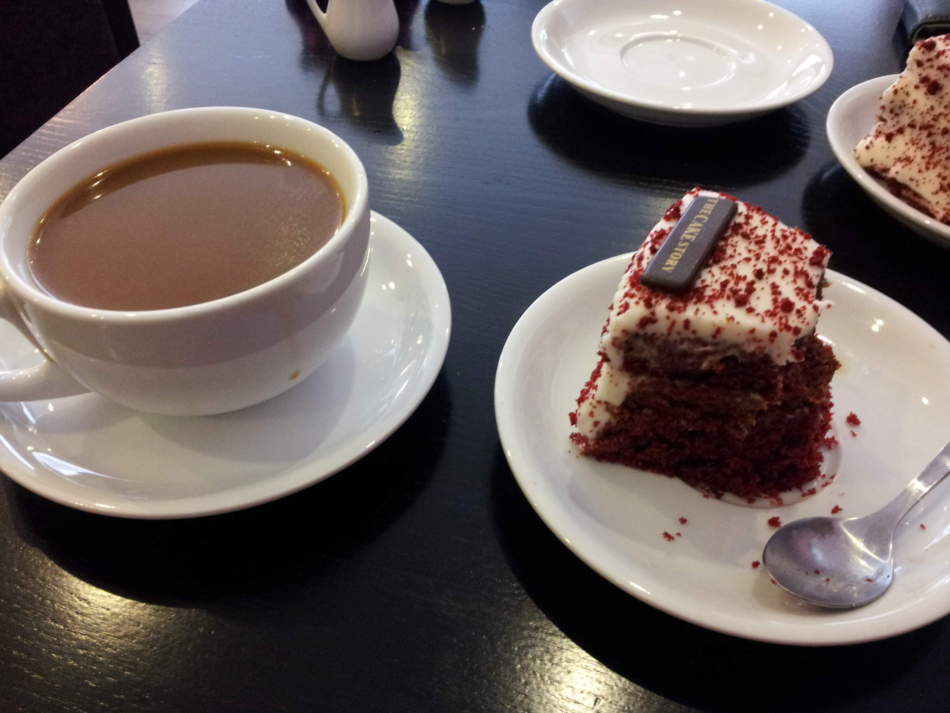 Coffee And Cake  The Cake Story