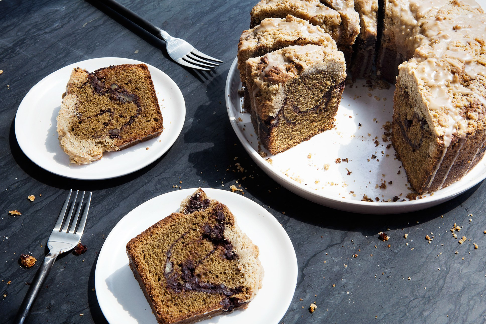 Coffee And Cake  Coffee Coffee Coffee Cake recipe