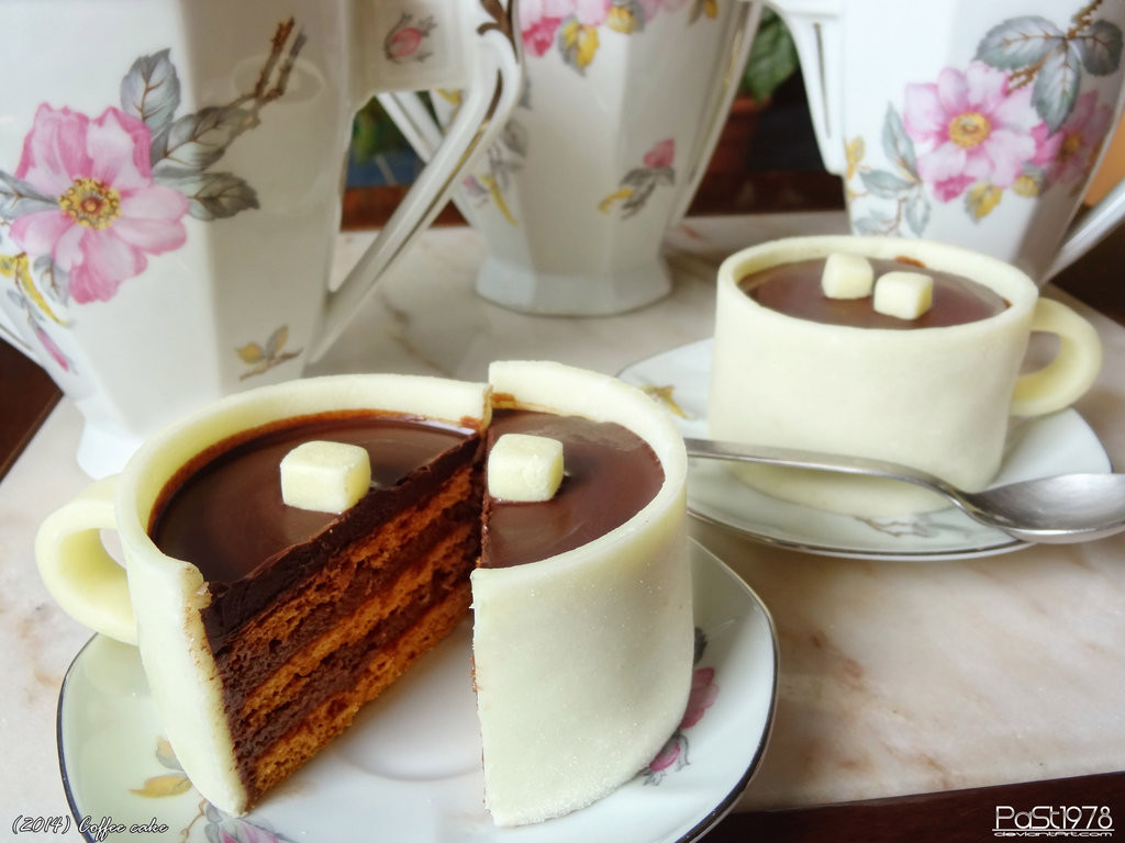 Coffee And Cake  Coffee cake by PaSt1978 on DeviantArt