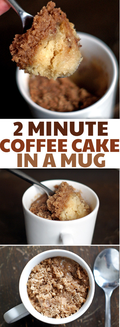 Coffee Cake In A Mug  Best Coffee Cake Recipes That are Much More Than Just