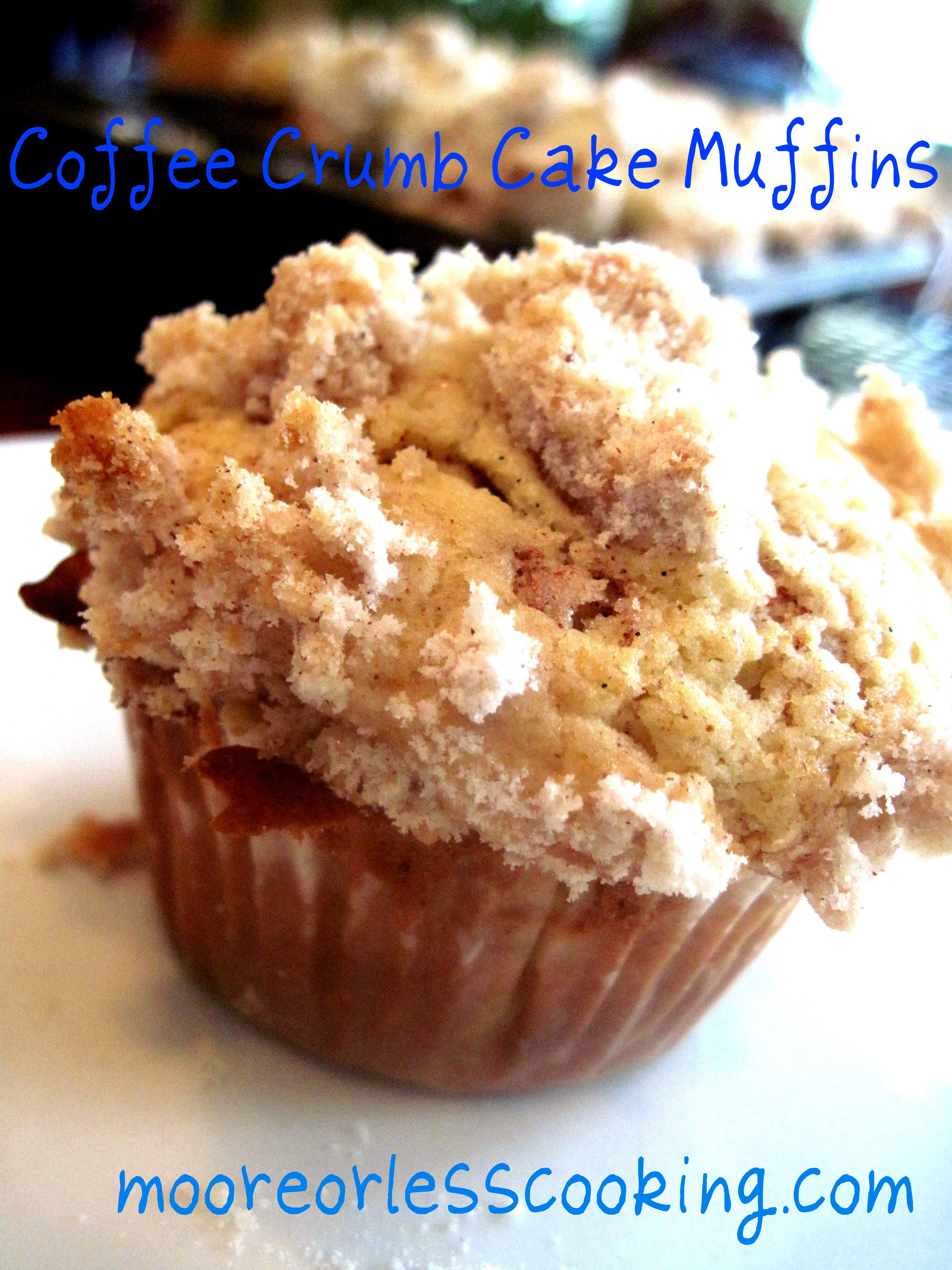 Coffee Cake Muffins  Coffee Crumb Cake Muffins