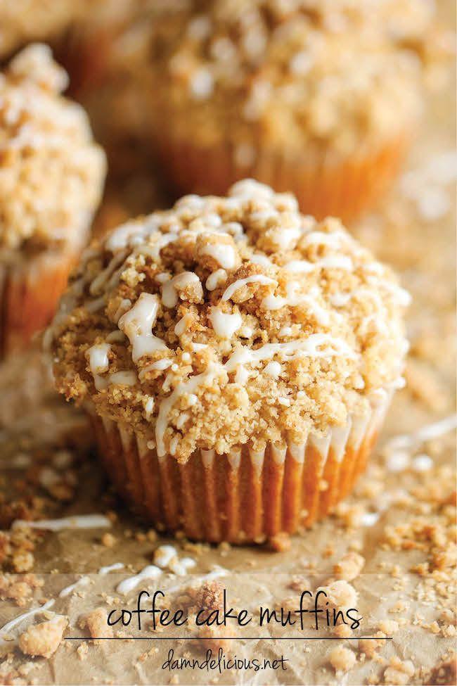 Coffee Cake Muffins  Coffee Coffee Cake Muffins Recipe — Dishmaps