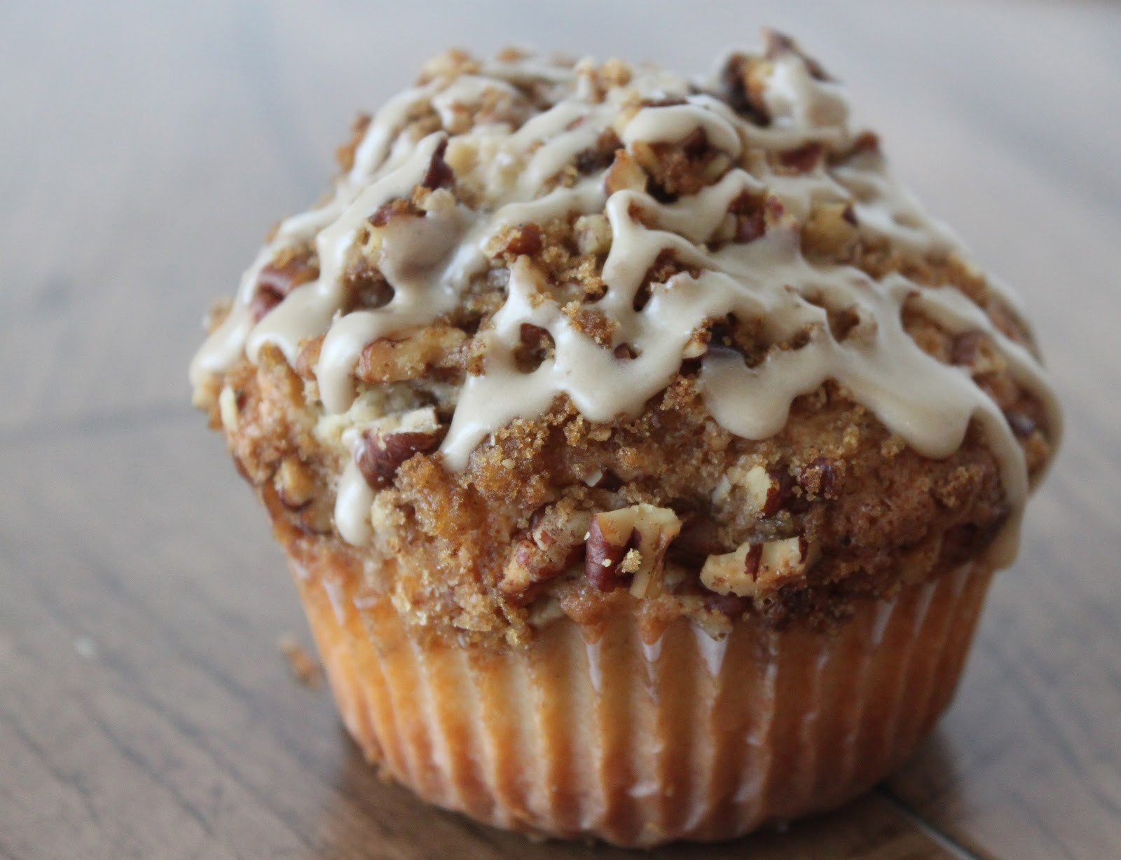 Coffee Cake Muffins  A Bountiful Kitchen Coffee Cake Muffins with Salted Maple