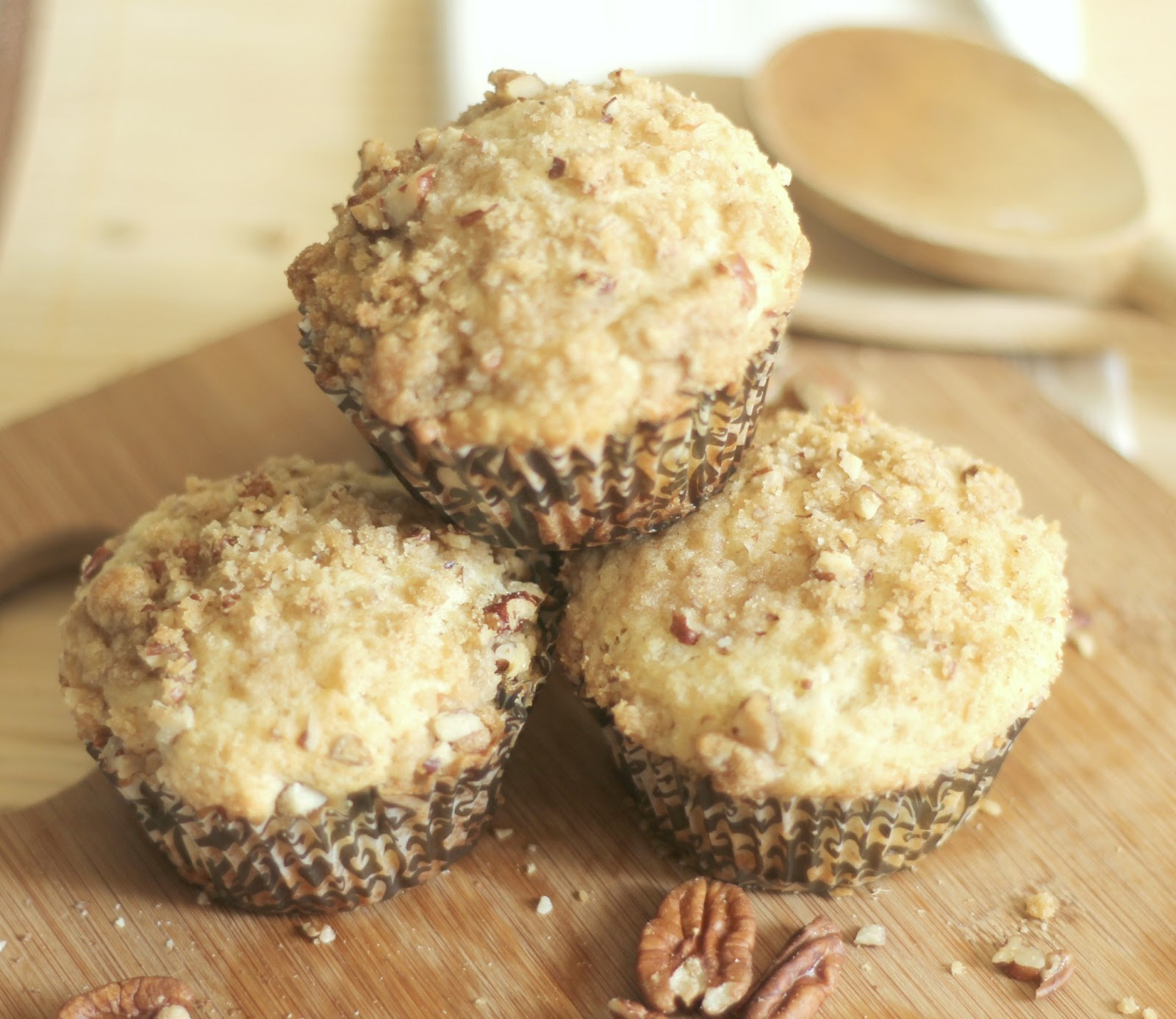 Coffee Cake Muffins  The Unsophisticated Kitchen Coffee Cake Muffins