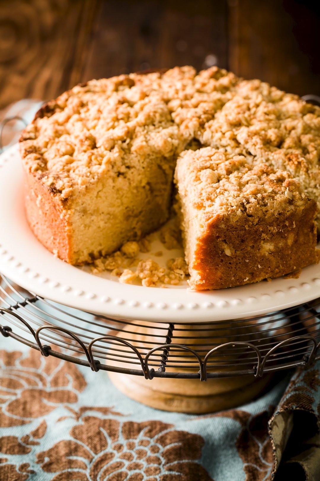 Coffee Cake Recipe  Crumb Topped Sour Cream Coffee Cake