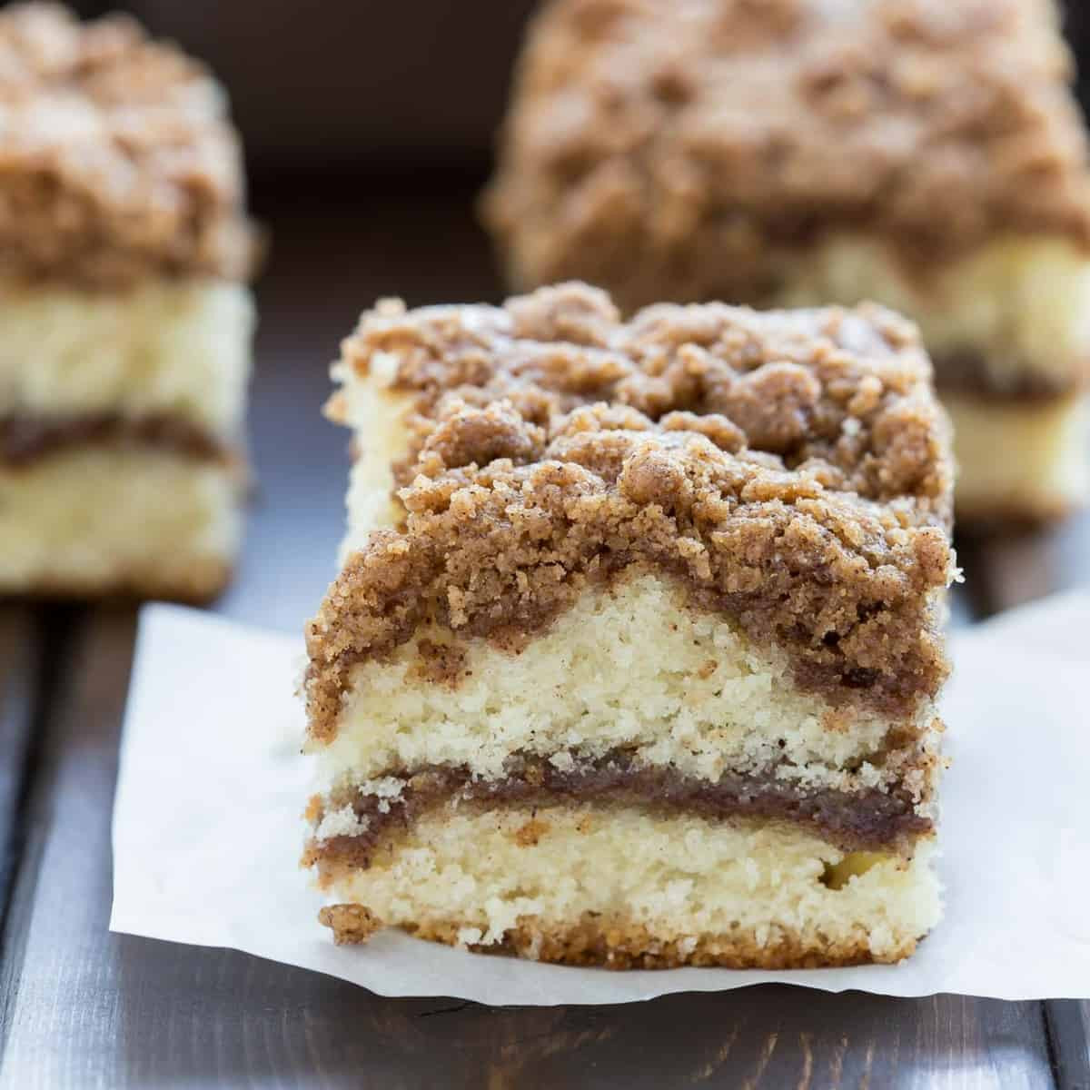 Coffee Cake Recipe  Cinnamon Crumb Coffee Cake Recipe