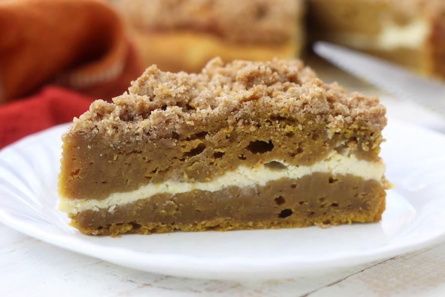 Coffee Cake Recipe  How To Make Pumpkin Pie Coffee Cake The Fed Up Foo