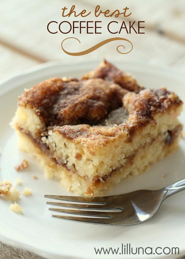 Coffee Cake Recipe  Quick Coffee Cake