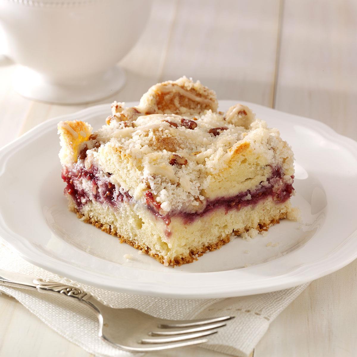 Coffee Cake Recipe  Raspberry Streusel Coffee Cake Recipe