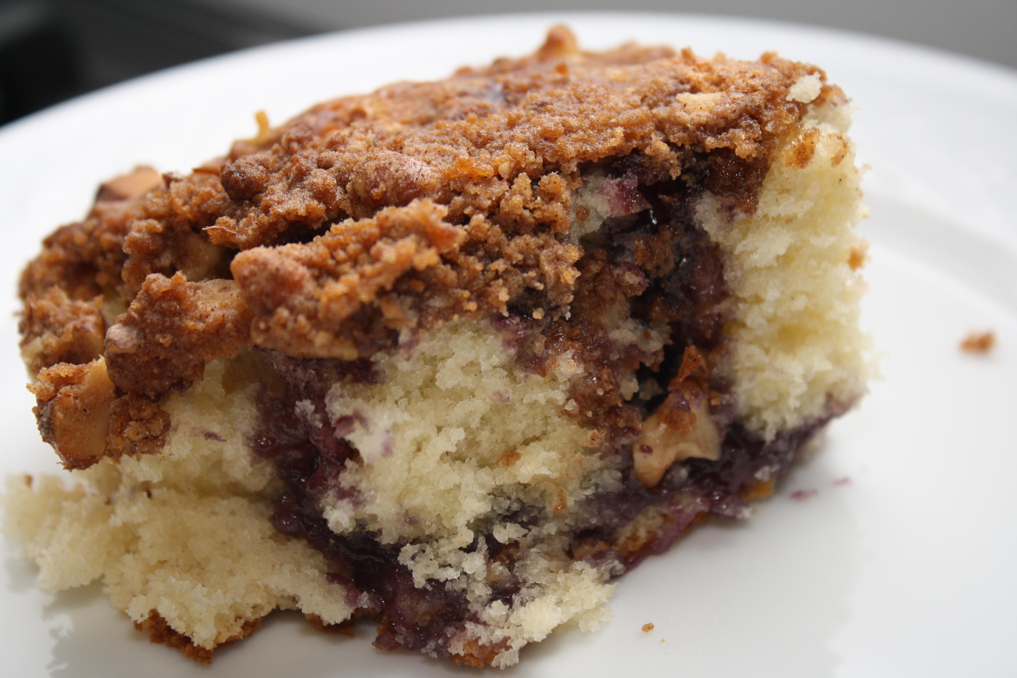 Coffee Cake Recipes  easy coffee cake with cake mix