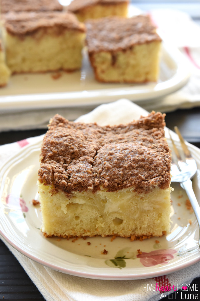 Coffee Cake Recipes  Cream Cheese Coffee Cake