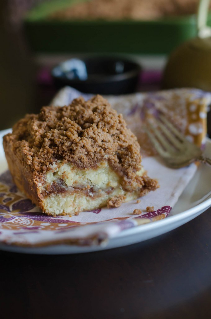 Coffee Cake Topping  Cinnamon Coffee Cake with Streusel Crumb Topping • Go Go