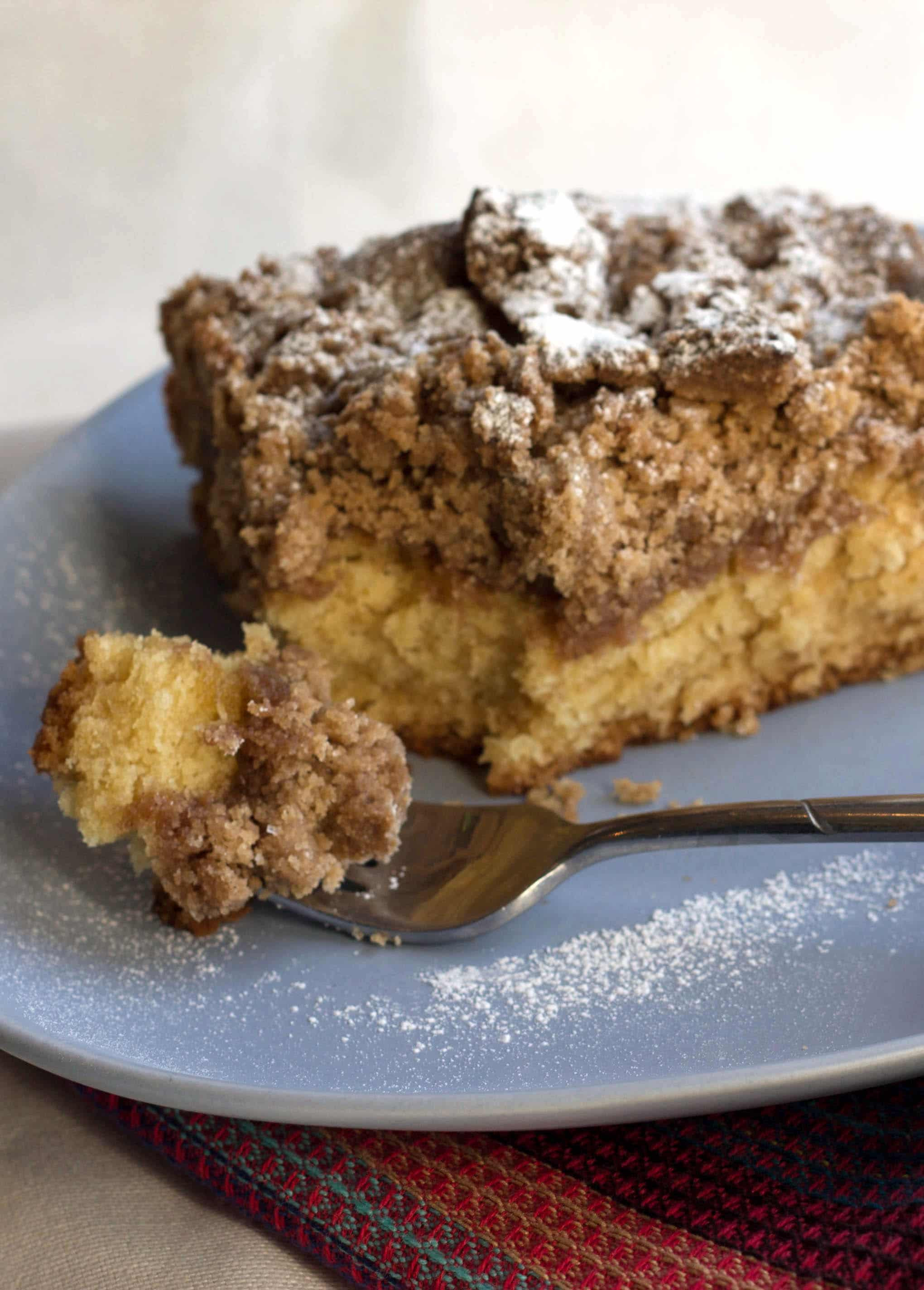 Coffee Cake Topping  New Jersey Crumb Coffee Cake Erren s Kitchen