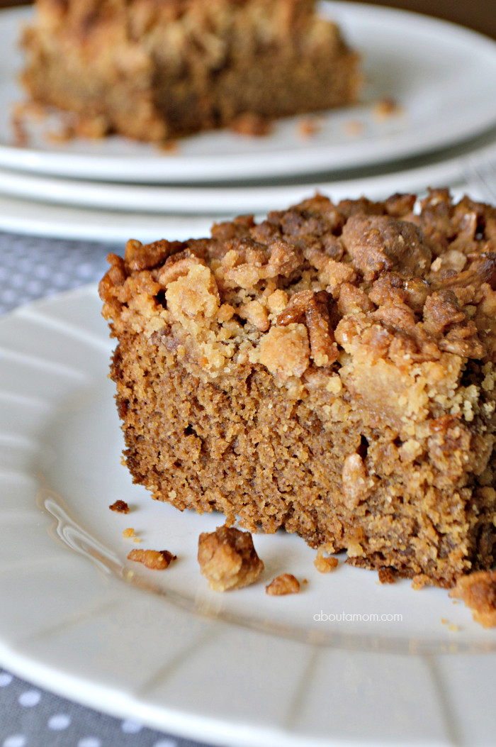 Coffee Cake Topping  Sour Cream Coffee Cake with Crunchy Cinnamon Pebbles Crumb
