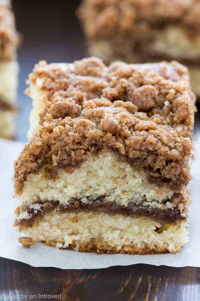Coffee Cake Topping  Cinnamon Crumb Coffee Cake Recipe
