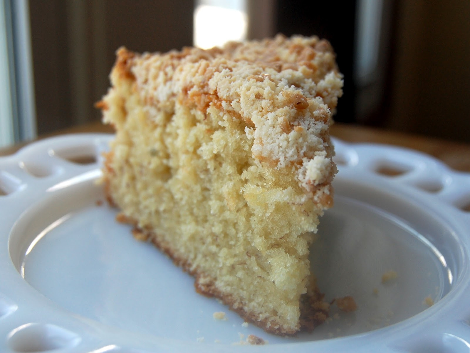 Coffee Cake Topping  Cassie Craves Banana Coffee Cake with Toffee Crumb Topping