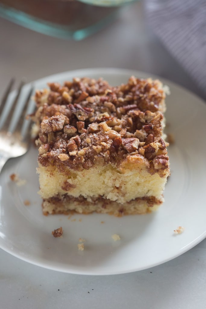 Coffee Cake Topping  Sour Cream Coffee Cake Tastes Better From Scratch