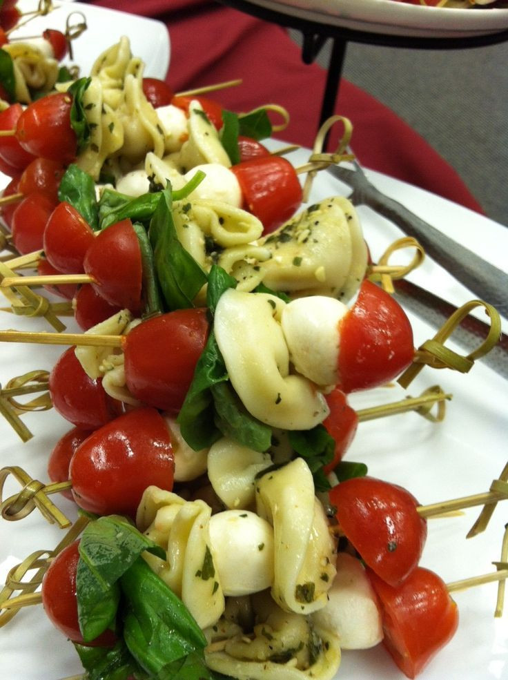 Cold Italian Appetizers  Best 25 Tortellini skewers ideas on Pinterest
