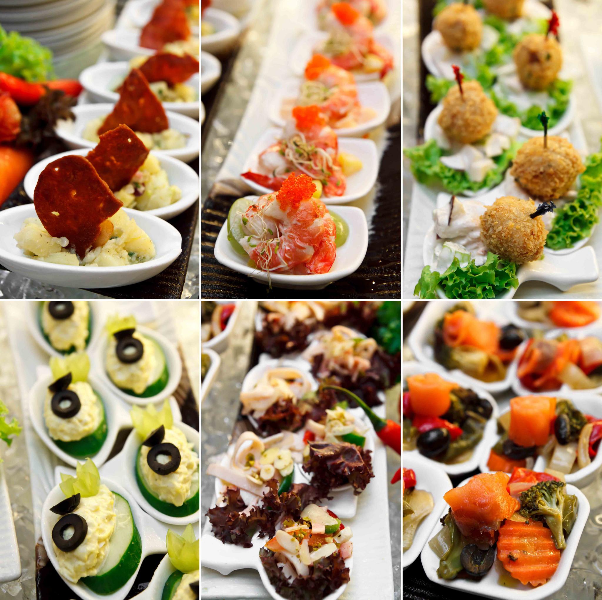 Cold Italian Appetizers  Checkers Cafe Dorsett Regency Kuala Lumpur Invited