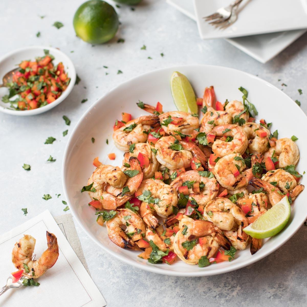 Cold Marinated Shrimp Appetizer  Spicy Southwestern Shrimp Appetizer