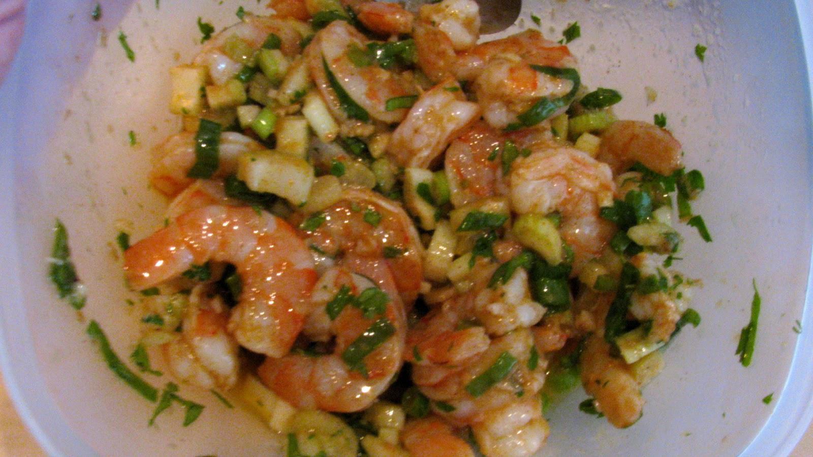Cold Marinated Shrimp Appetizer  Rita s Recipes Marinated Shrimp