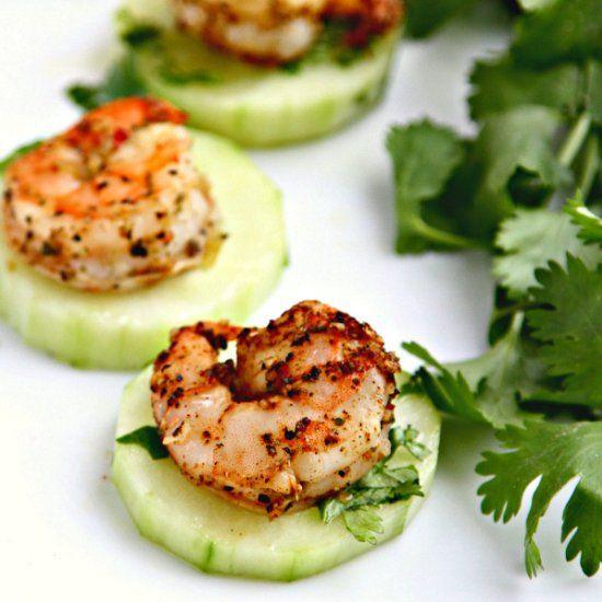Cold Marinated Shrimp Appetizer  Blackened shrimp Shrimp and Cool things on Pinterest