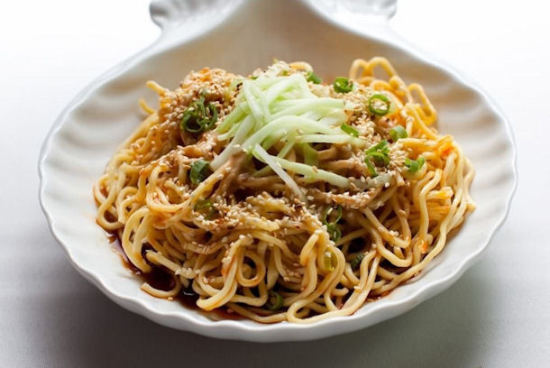 Cold Noodles With Sesame Sauce  Epicurus Recipes