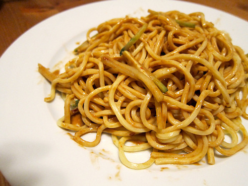 Cold Noodles With Sesame Sauce  Sichuan Cold Noodle with Spicy Sesame Sauce 四川涼麵 – Asian