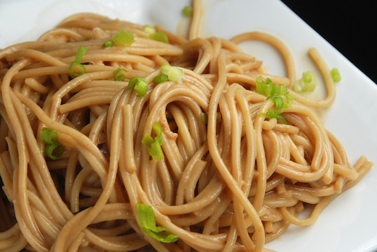 Cold Noodles With Sesame Sauce  Stylish Cuisine Cold Noodles with Sesame Sauce