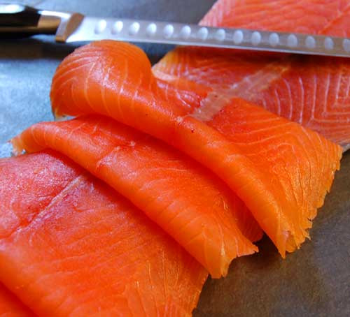 Cold Smoked Salmon Recipes  Cold smoked salmon 100g Chirk Trout Farm and Smokery