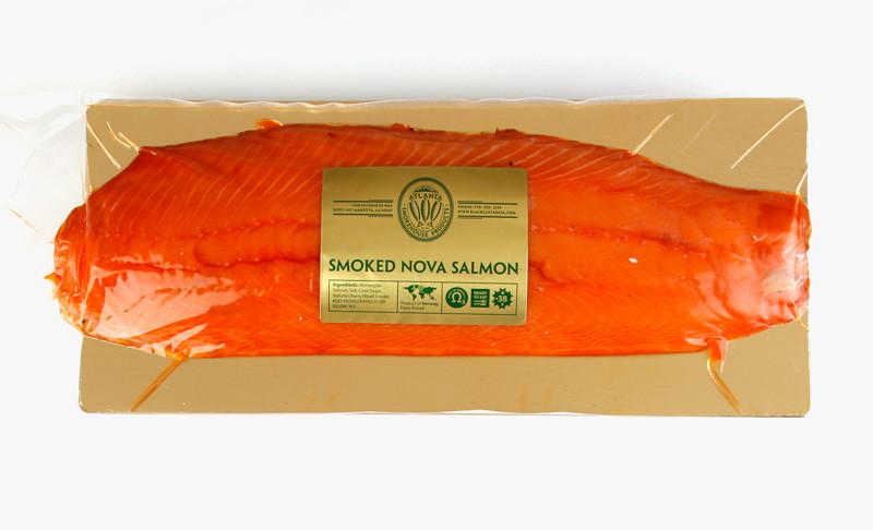 Cold Smoked Salmon  Cold Smoked Nova Salmon sliced 2 5 3 0 lb
