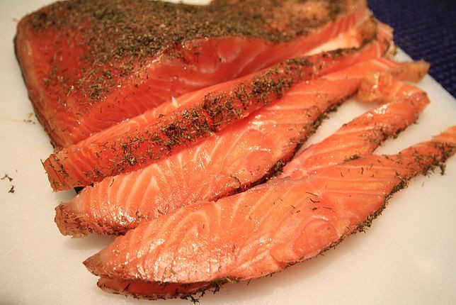 Cold Smoked Salmon  Cold smoked salmon • Meat Review