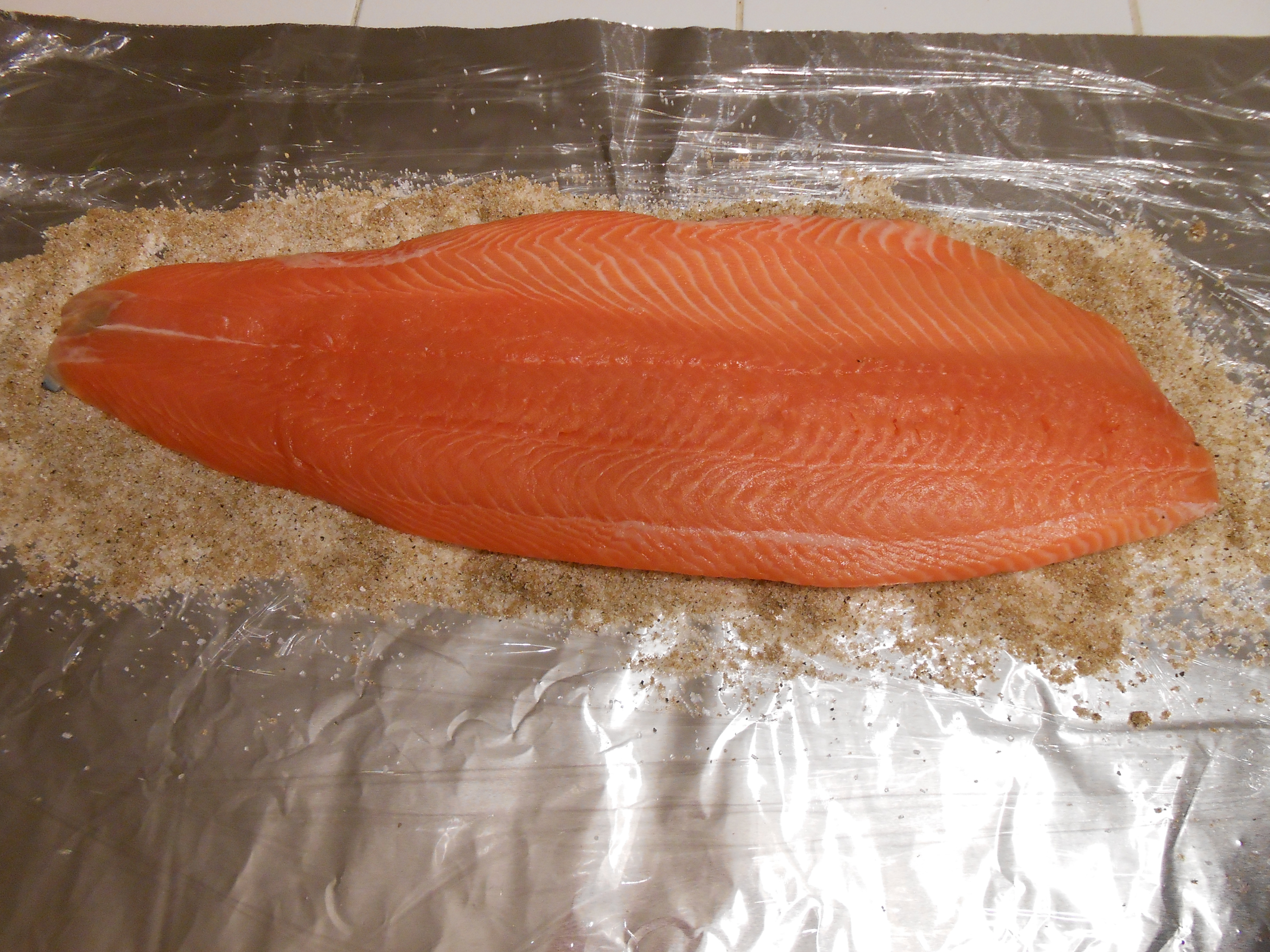 Cold Smoked Salmon  Cold smoked salmon at home The Fast and the Foo st