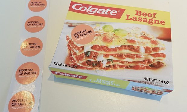 Colgate Beef Lasagna  May 18 International Museum Day The weird fascinating