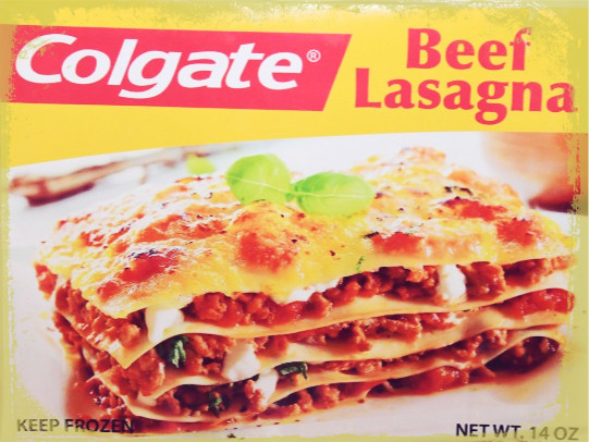 Colgate Beef Lasagna  There's Glory In Failure – COLD CLIPS