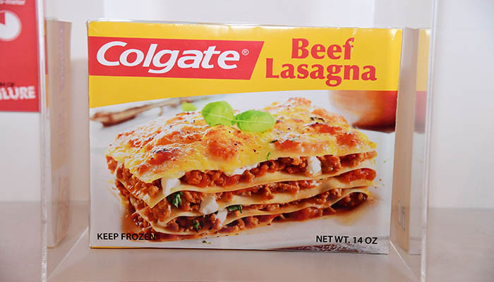 Colgate Beef Lasagna  Flop products at the Museum of Failure