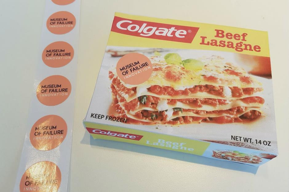 Colgate Beef Lasagna  Biggest brand product failures of all time