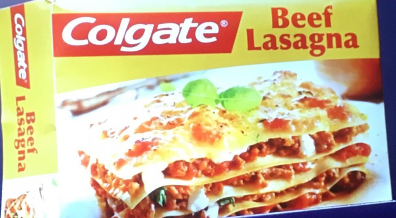 Colgate Beef Lasagna  Colgate lasagna takes top flop slot at Museum of Failure