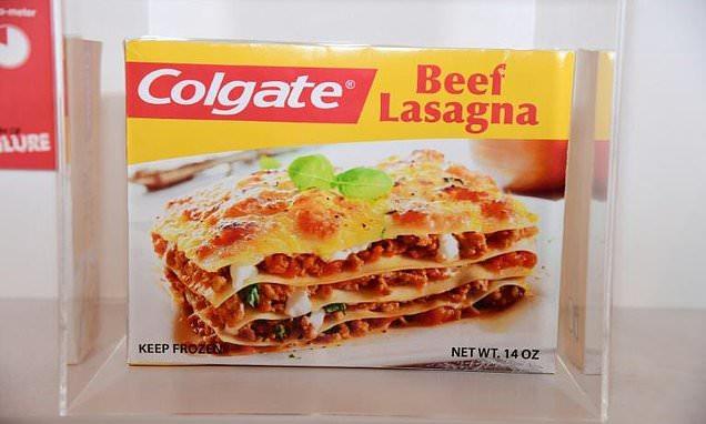 Colgate Beef Lasagna  From Colgate Lasagna to the monoski flops take center
