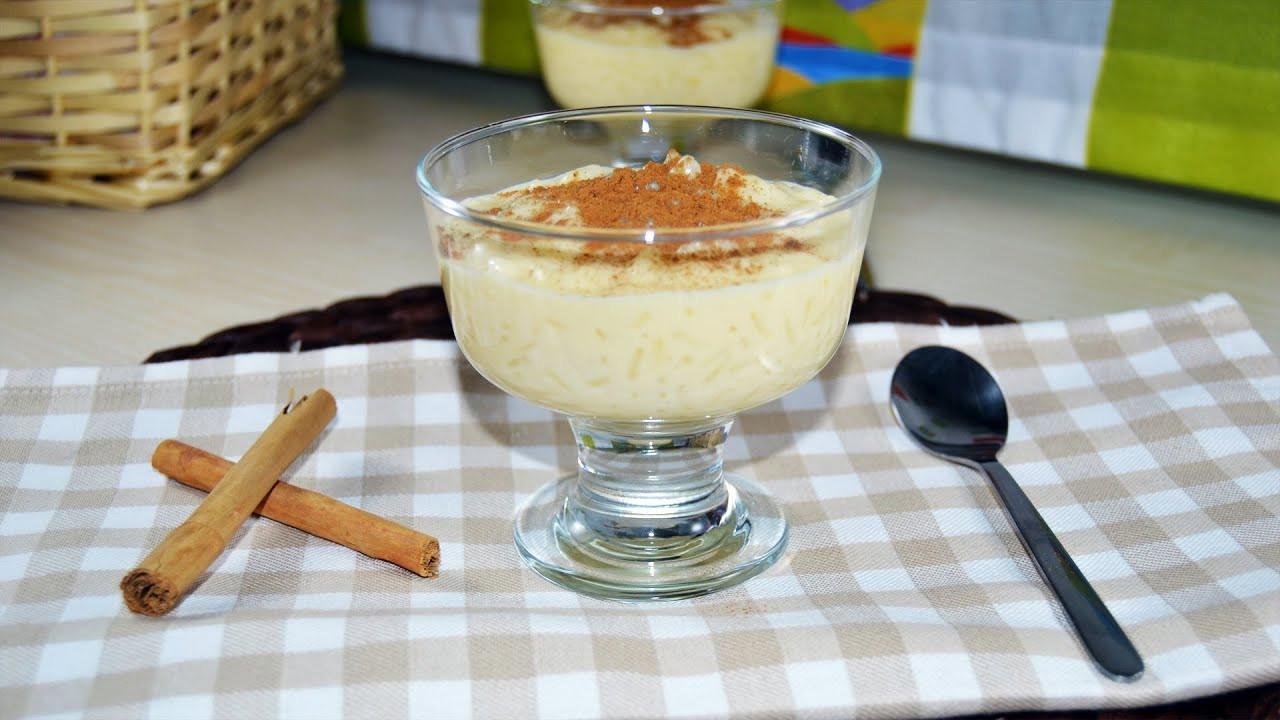Condensed Milk Desserts Recipe  rice pudding with condensed milk