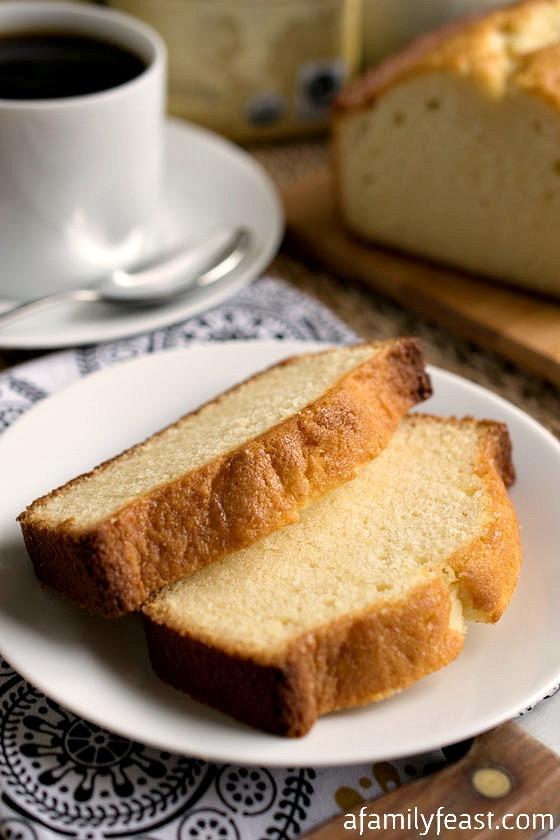 Condensed Milk Desserts Recipe  Condensed Milk Pound Cake A Family Feast