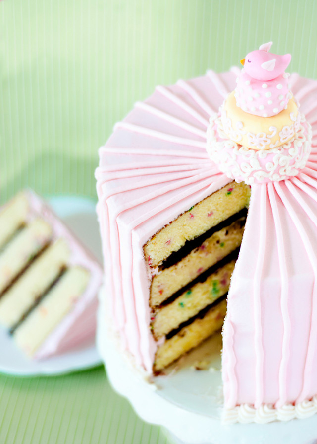 Confetti Cake Recipe  The Best Boxed Cake Mix Recipe You ll Ever Eat