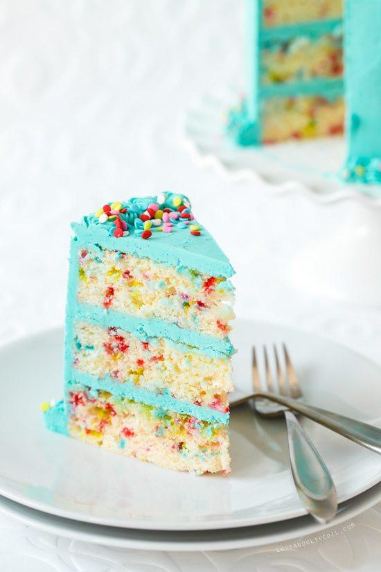 Confetti Cake Recipe  30 Birthday Dessert Ideas Like Mother Like Daughter