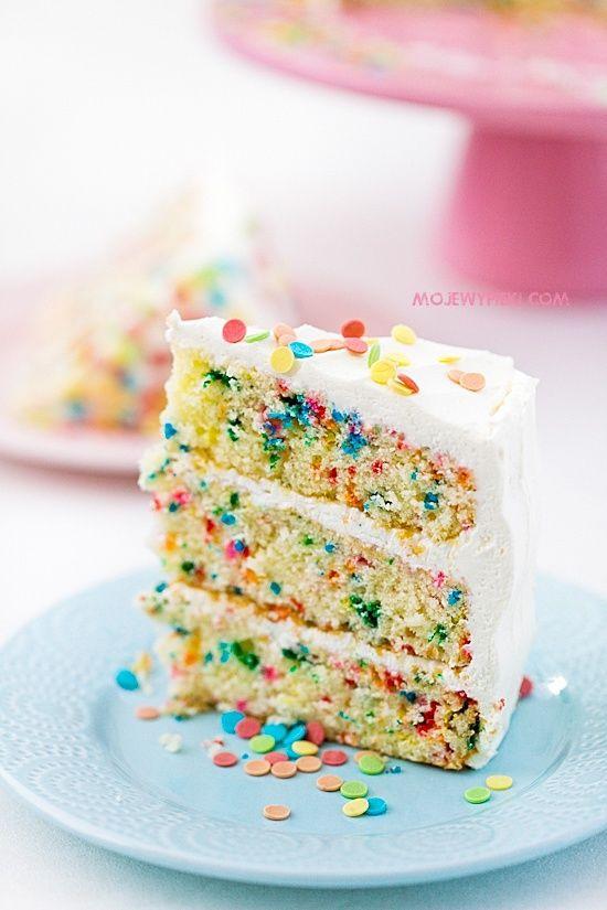 Confetti Cake Recipe  100 Confetti Cake Recipes on Pinterest