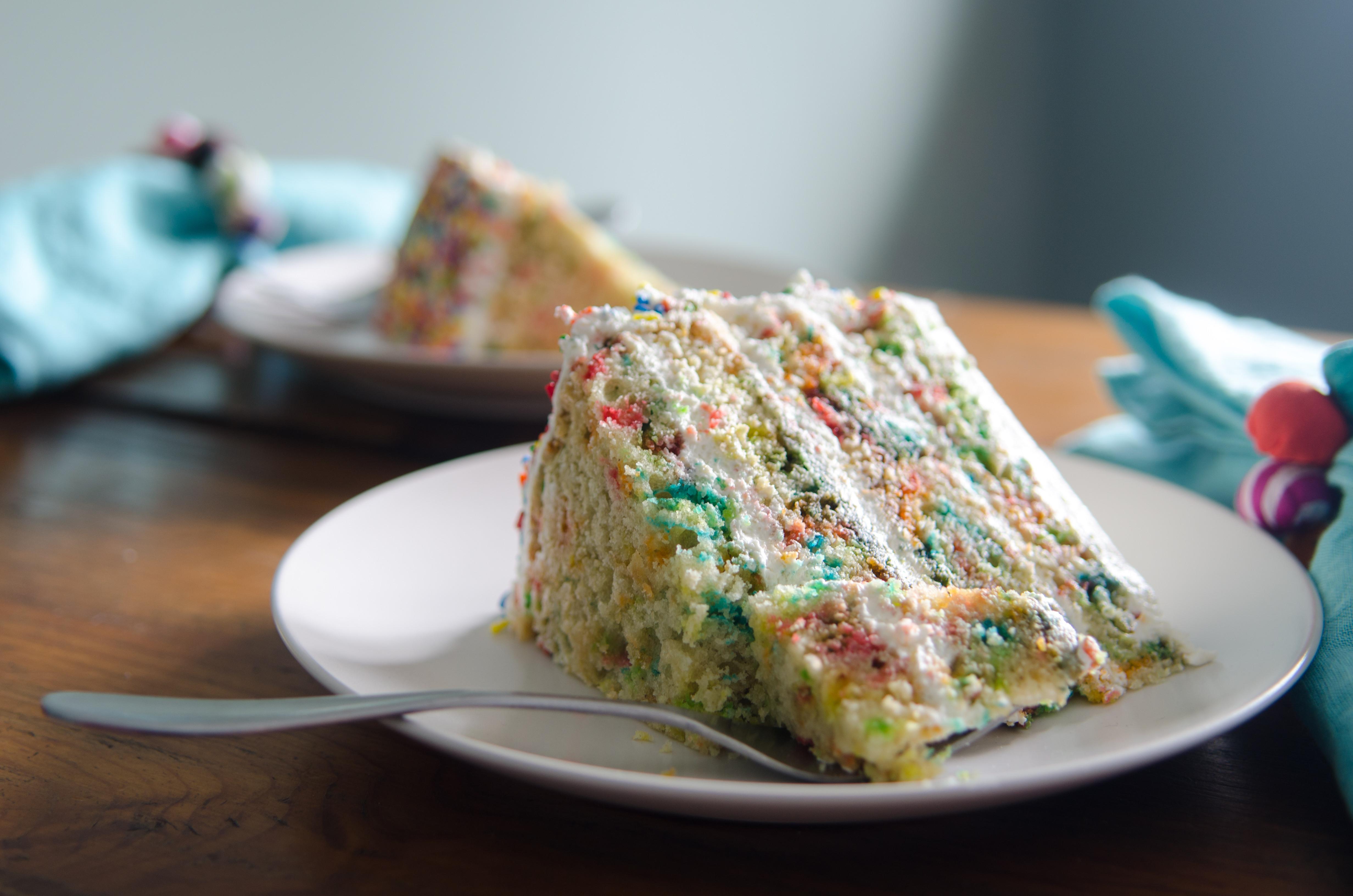 Confetti Cake Recipe  Homemade Gluten Free Confetti Cake
