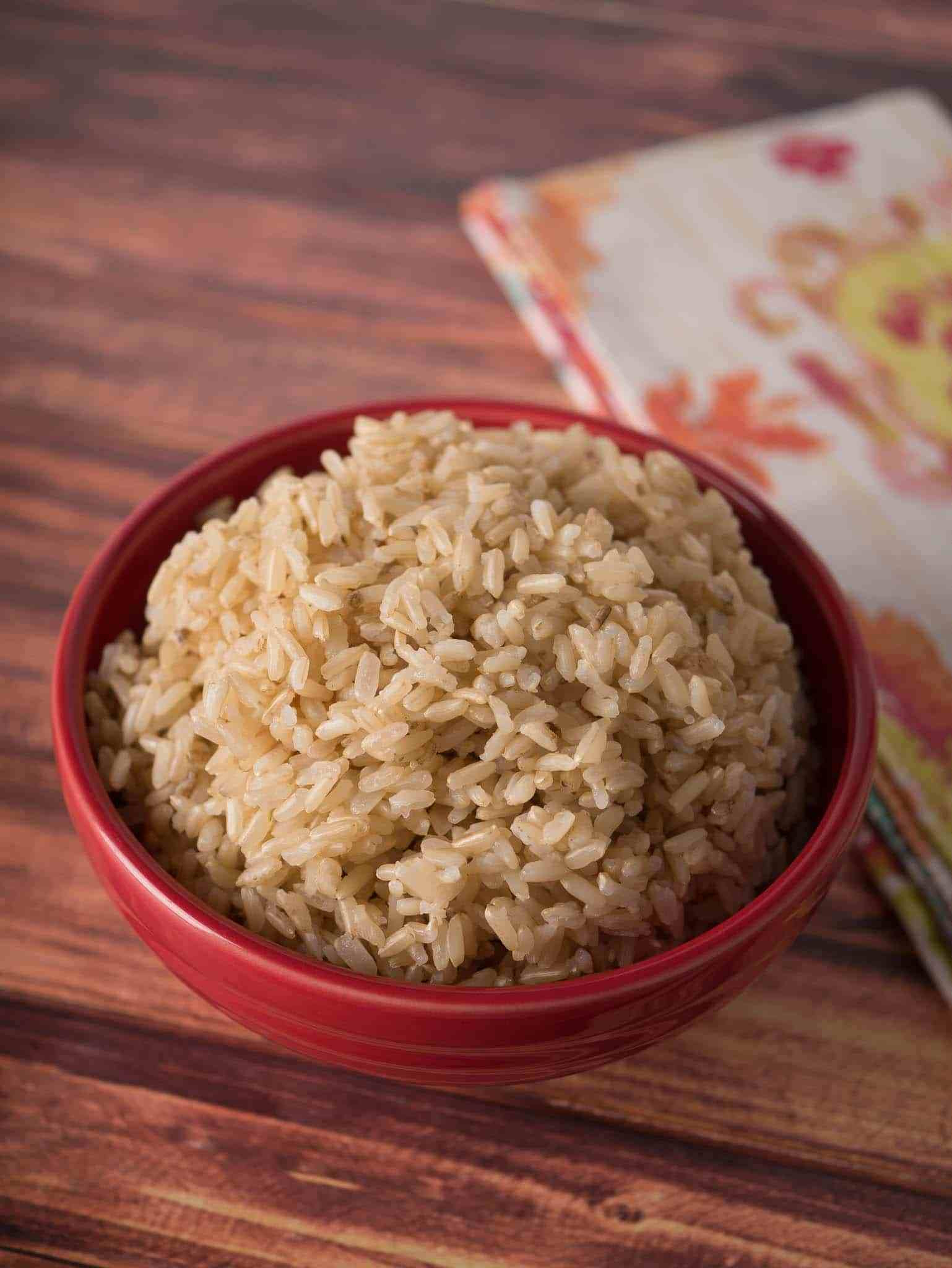 Cook Brown Rice In Rice Cooker  Pressure Cooker Brown Jasmine Rice Dad Cooks Dinner