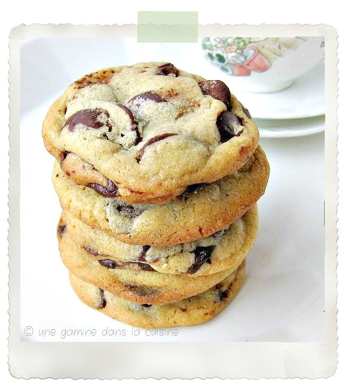 Cook'S Illustrated Chocolate Chip Cookies  une gamine dans la cuisine Cook s Illustrated Chocolate